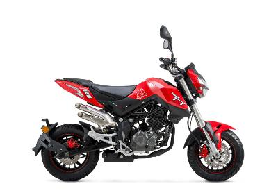 MOTO BENELLI TORNADO NAKED T 125 ROUGE