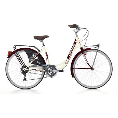 VELO CINZIA CITY LIBERTY CREME 6V
