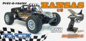 VOITURE KANSAS Desert Buggy RTR 1/8